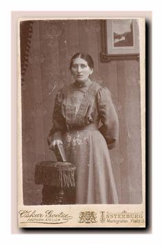Frau aus Insterburg