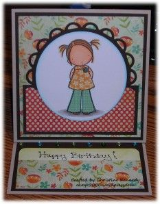 Happy Birthday Card. Stamp by My Favorite Things - Pure Innocence Line