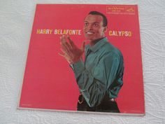 Harry Belafonte Calypso 1956 RCA Victor LPM 1248 LP near Mint - sleeve Very Good  the jacket is Very Good- with  splitting on bottom