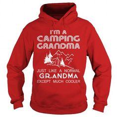 camping grandma just