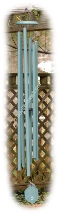 Bells of Vienna 74-inch Chime  Tall, elegant and eye-catching #chime  Hand-tuned to C for your garden