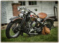 1937 Harley Davidson Knucklehead,