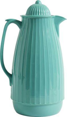 Turquoise Thermoskanne - Küchenaccessoires bei BERTINE