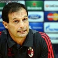 AC Milan coach Massimiliano Allegri has been suspended for one match after protesting to match officials during his side's 2-1 defeat at Udinese, league officials announced on Monday
