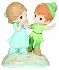 """Precious Moments/Disney """"I'm Never Lost When I'm With You"""" Figurine"""