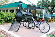 Home - Destination Tampa Bay Urban Furniture, Street Furniture, Honeymoon Island, Rapid Transit, Bicycle Rack, Guerilla Marketing, Clearwater Beach, Bike Storage, Shopping Malls