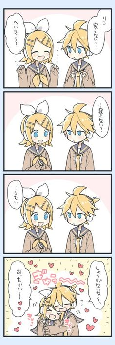 Vocaloid, Kagamine Rin And Len, Cute Photos, Twins, Comics, Anime, Fictional Characters, Sketch, Sleeves