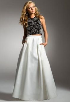 Two-Piece Dress with