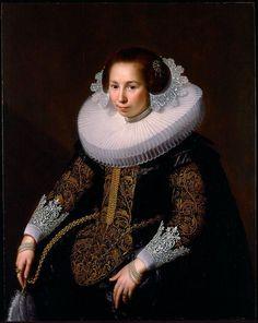 Portrait de Catharina van Voorst, 1628 Paulus Moreelse