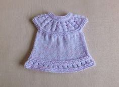 This sweet little dress is now in three premature baby sizes ~ small, medium and large Lazy Daisy All-in-One Baby Dresses ~ . Knitted Doll Patterns, Hat Patterns To Sew, Baby Dress Patterns, Crochet Patterns, Knitted Dolls, Baby Cardigan Knitting Pattern, Baby Hats Knitting, Baby Knitting Patterns, Free Knitting