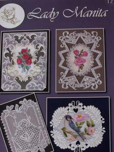LADY MANITA PATTERN PACK 12      Four beautiful patterns from Lady Manita…