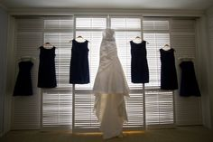 my dress, my bridesmaids dresses.....