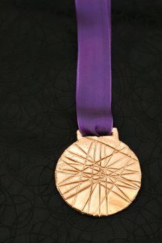 DIY Olympic Gold Medal Craft for kids during the Olympic 2012 London Summer Games