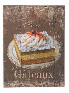 Dibor Mademoiselle Gateaux Painting