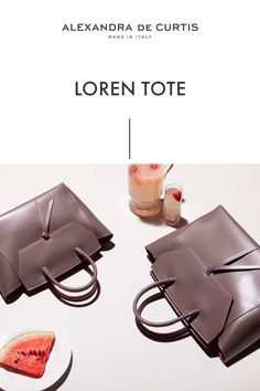 Are you looking for a designer leather handbag? Click through to check out the Loren Tote, handmade in Italy with smooth Italian Leather Handbags, Designer Leather Handbags, How To Make Handbags, Purses And Handbags, Italian Street, Work Tote, Brown Leather Handbags, Italian Fashion, Tote Purse