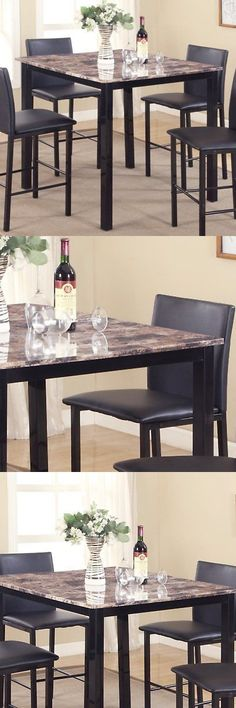 Farmhouse Table set with Benches 4\u0027x8\u0027 Dining Sets 107578