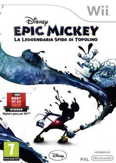 Disney Epic Mickey: La Leggendaria Sfida Di Topolino - Wii
