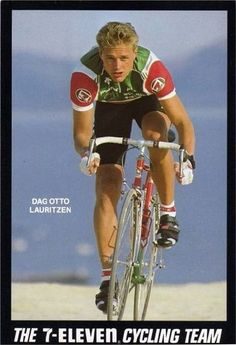Dag Otto Lauritzen Best Picture For Cycling design For Your Taste You are looking for something, and Cycling Memes, Cycling Art, 7 Eleven, Vintage Cycles, Bicycle Race, Team 7, Triathlon, Retro, Bike Stuff