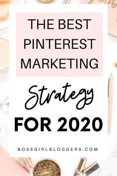 The best Pinterest marketing tips for bloggers in 2020. A Pinterest strategy for bloggers to grow their blog traffic. #pinterestmarketing #pinteresttips #pintereststrategy #growyourblog #blogtraffictips