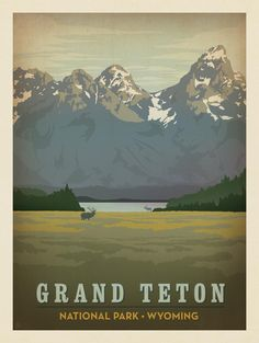 Anderson Design Group – American National Parks – Grand Teton National Park