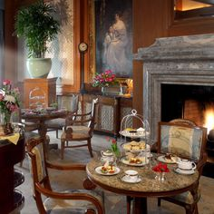 Take afternoon tea at the Grand America