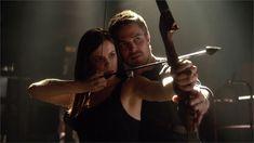 Huntress and Arrow.