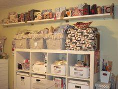"Craft Room Inspiration: A Creative Operation: ""Mom Cave"""