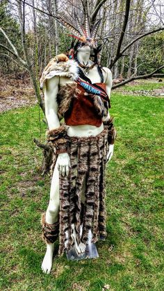 Check out this item in my Etsy shop https://www.etsy.com/listing/385117912/sale-barbarian-costume-primal-goddess