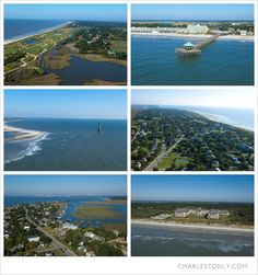 First and foremost a destination by the sea, the Charleston area boasts five distinct beach towns: Isle of Palms, Sullivan's Island, Folly Beach, Kiawah Island, and Seabrook Island.