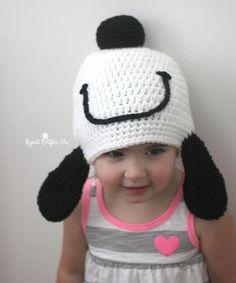 Snoopy Hat Free Crochet Pattern