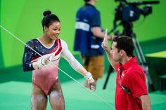 I like clean, safe gymnastics, guaranteed to stick. Gymnastics Facts, Gymnastics Images, Amazing Gymnastics, Rio Olympic Games, Final Five, Gabby Douglas, Rio Olympics 2016, Role Models, Finals