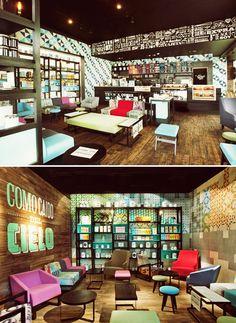 Cielito Querido Café - México - por Retail Design BR