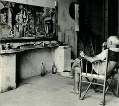 Picasso's homes/studios.