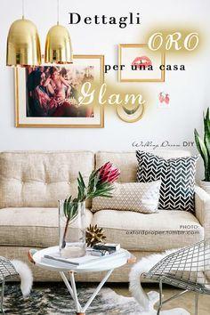 #gold #home #decor #glam