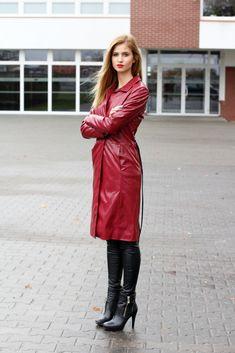 Beauty.Fashion.Shopping by Paula Jagodzińska: Red coat