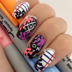 Back To School Nails #nailart #nails #hotnails