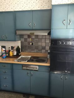 How To Refinish Metal Kitchen Cabinets In 2019 Metal