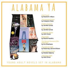 YA books set in Alabama #YAbyState   Don't Touch by @byrachelmwilson  The Drowned Forest by #KristopherReisz  Endless Summer by @echolsjenn  Going Too Far by @echolsjenn  Looking for Alaska by @johngreenwritesbooks  Rebel Belle by @ladyhawkins  The Second Summer of the Sisterhood by @annbrashares  The Splendor Falls by #RosemaryClementMoore  This Is Where It Ends by @marieken  Until Fr...