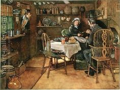 The Pickwick Papers by Charles Dickens ~ Sam Weller looks on his stepmother and Mr. Popular Paintings, Most Famous Paintings, Victorian Decor, Victorian Era, Victorian Fashion, Charles Dickens Books, The Pickwick Papers, The Young Victoria, Oil Painting Reproductions