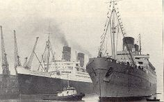 nov.10 last trip on the mauretania