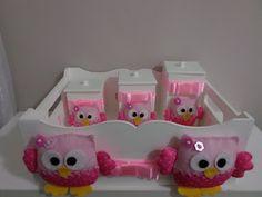 Artesanatos Juliana: Kit Baby Higiene Corujas Quem quiser adquirir é só acessar minha loja virtual: www.elo7.com.br/artesanatosjuliana
