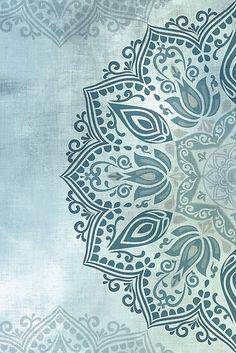 Wallpaper Yoga, Wallpaper Backgrounds, Mandala Wallpapers, Islamic Art Pattern, Pattern Art, Mandala Pattern, Mandala Art, Fleurs Art Nouveau, Motifs Textiles