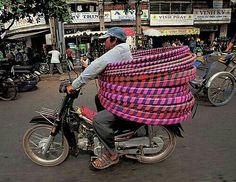 Hoelahoep transport :-)