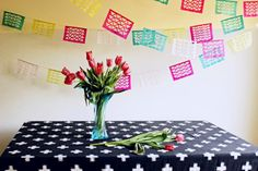 Home : Bunting, Banners, Garlands ... Oh My!  Oh Happy Day   Colourful Bunting