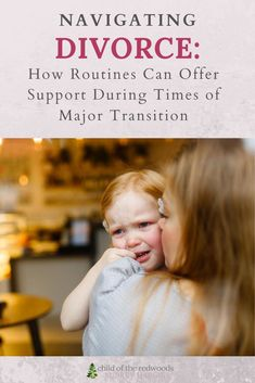 Going through divorce can already be a time filled with stress and anxiety--and our children experience those feelings, too. You can use routines as touchstones to add comfort and normalize.