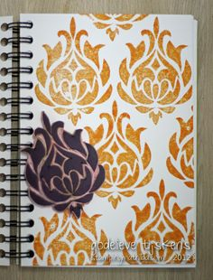 StampingMathilda: Stamp Carving 101 - Damask