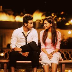 Ranbir Kapoor and Deepika Padukone bollywood indian movie couple cute