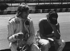 James Hunt and Niki Lauda 1979