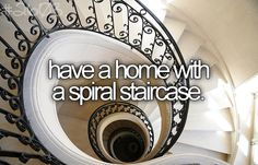 Spiral staircase ftw.