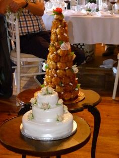 French and traditional wedding cakes